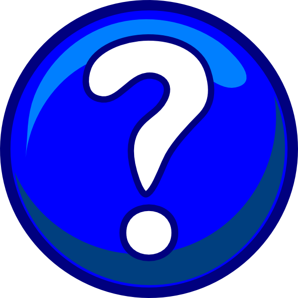 button with a question mark