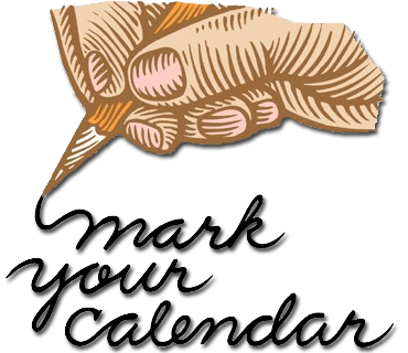 Mark your clipart calendar clipart. Holiday schedule town of