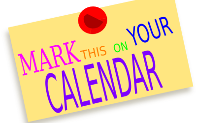 Mark your clipart diary. Brotherton byram school may