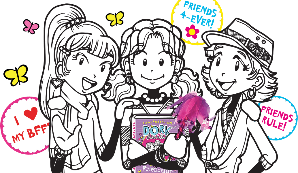 Mark your clipart diary. Dork diaries and share