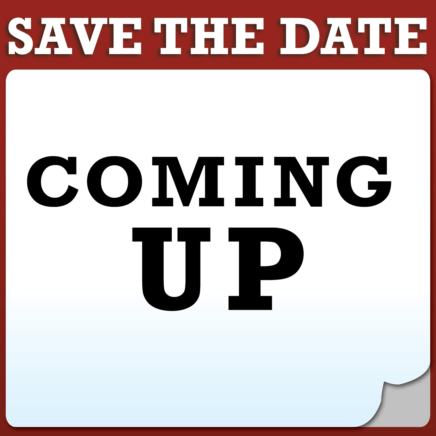 Mark your clipart diary. The date