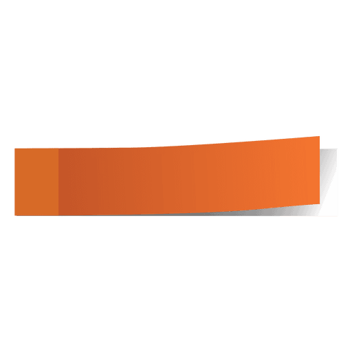 Marker line png. Orange post it page