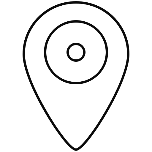 Marker vector gps. Direction icon line location