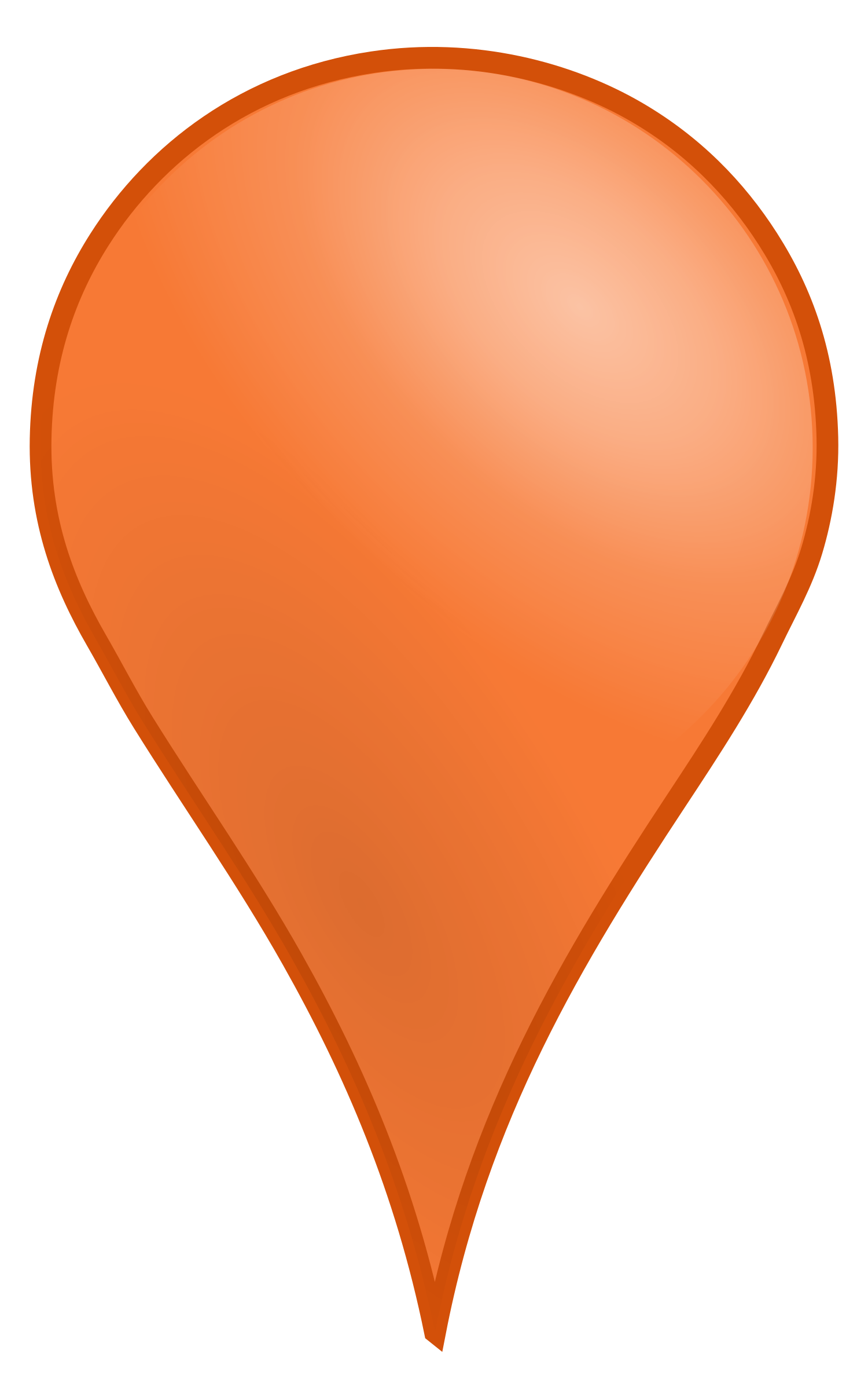 Marker vector map. Pin d icons png