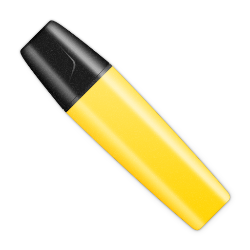 Marker vector pen. Icon picture web icons