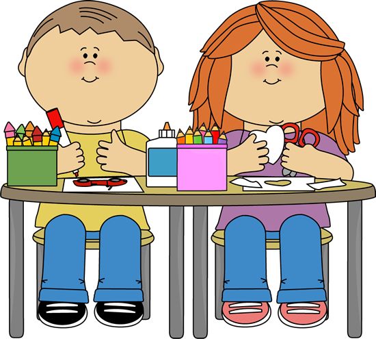 Classroom clipart early childhood classroom. Markers cliparts art class