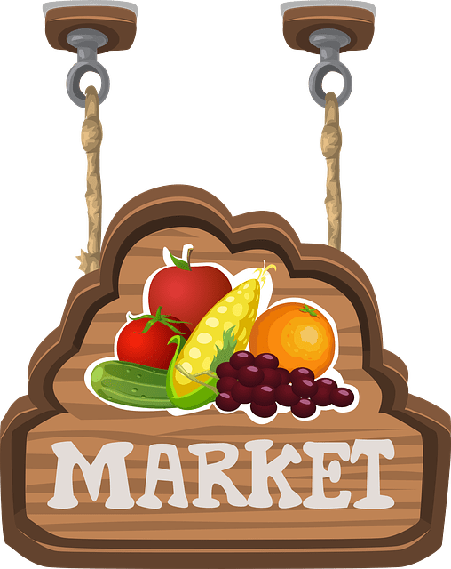 Market clipart fruit seller. Full featured webstore packages