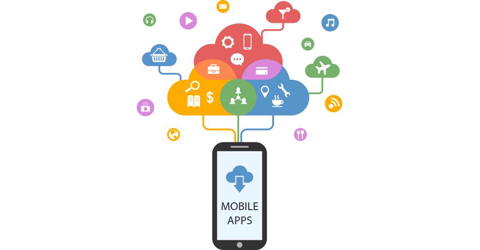 Marketing transparent app. Mobile agency in india