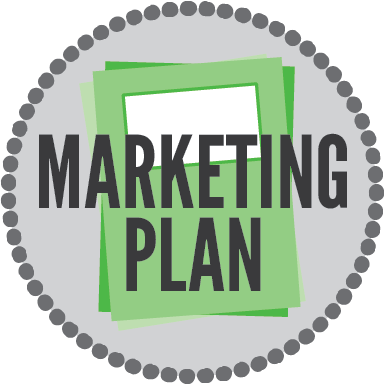 Marketing transparent form. A plan for your