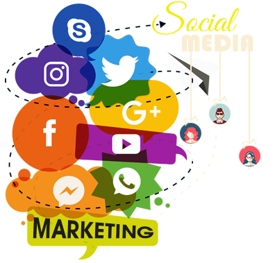 Marketing transparent social media. Service to drive more