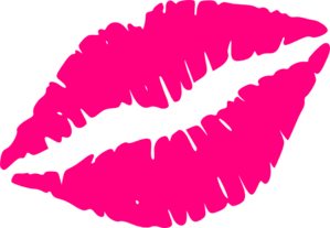 pink kiss png