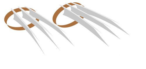 Marks clipart wolverine claw. Mlprarity s deviantart favourites