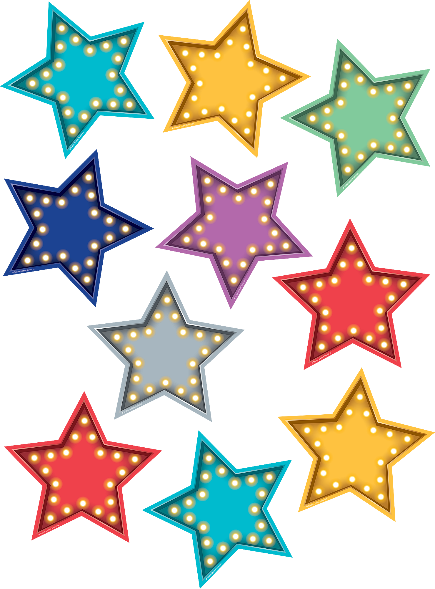 Marquee clipart board. Stars accents paper piecing