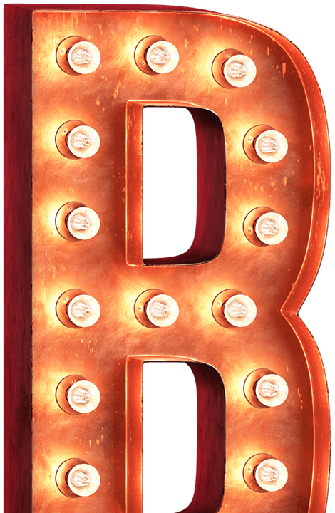 Marquee letters png. Font broadway download free