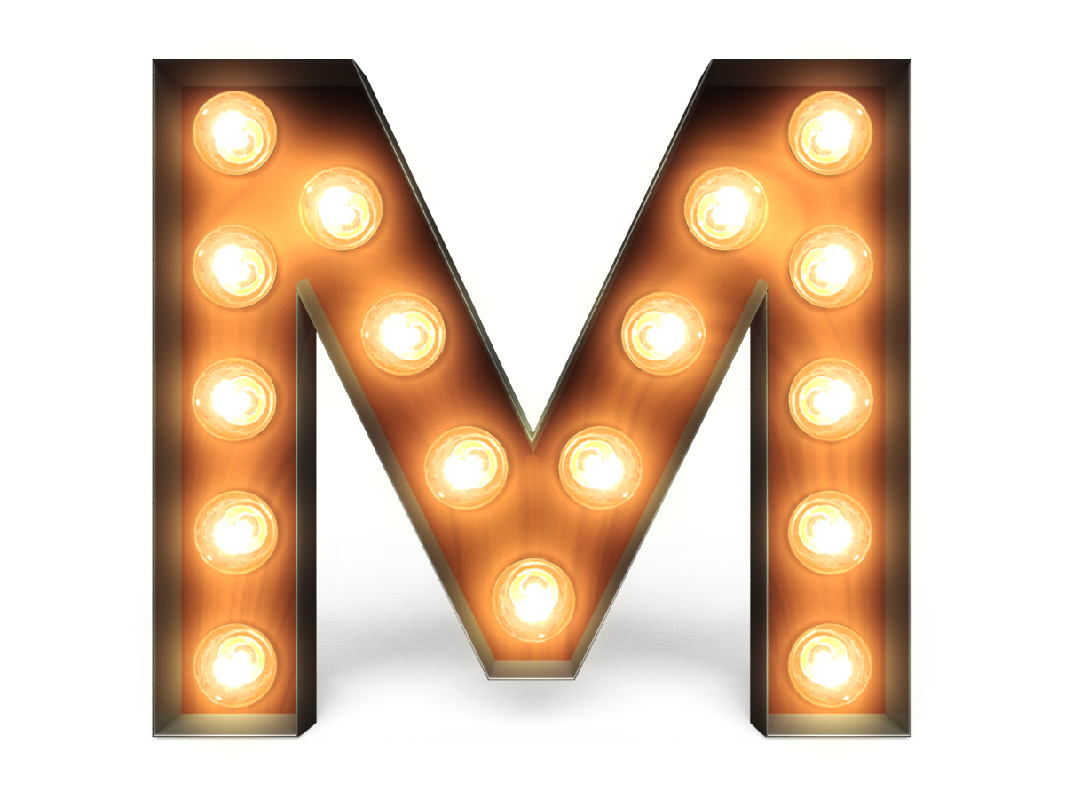 marquee letters png