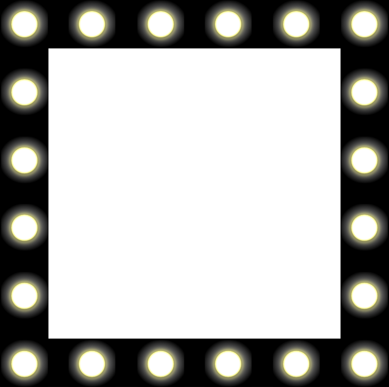 Marquee lights png. Collection of border