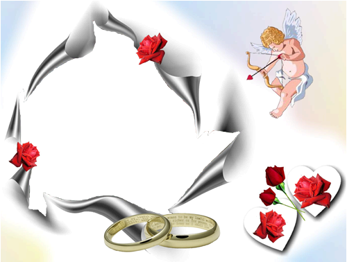 Marriage angels frames png. Photo wedding angel frame