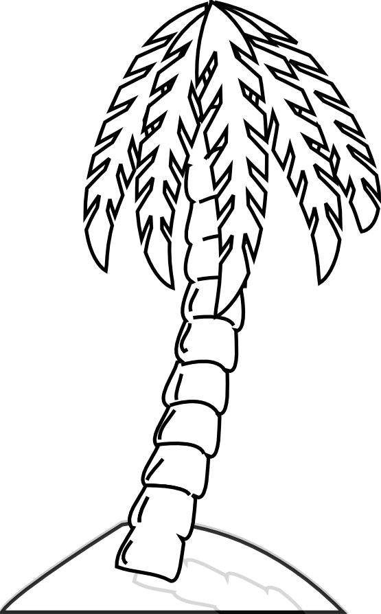 Marriage clipart banana tree. Free drawings black and