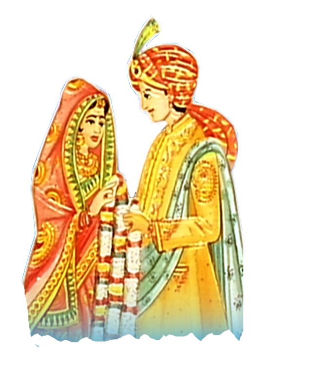Marriage clipart dulha dulhan. Indian png transparent images