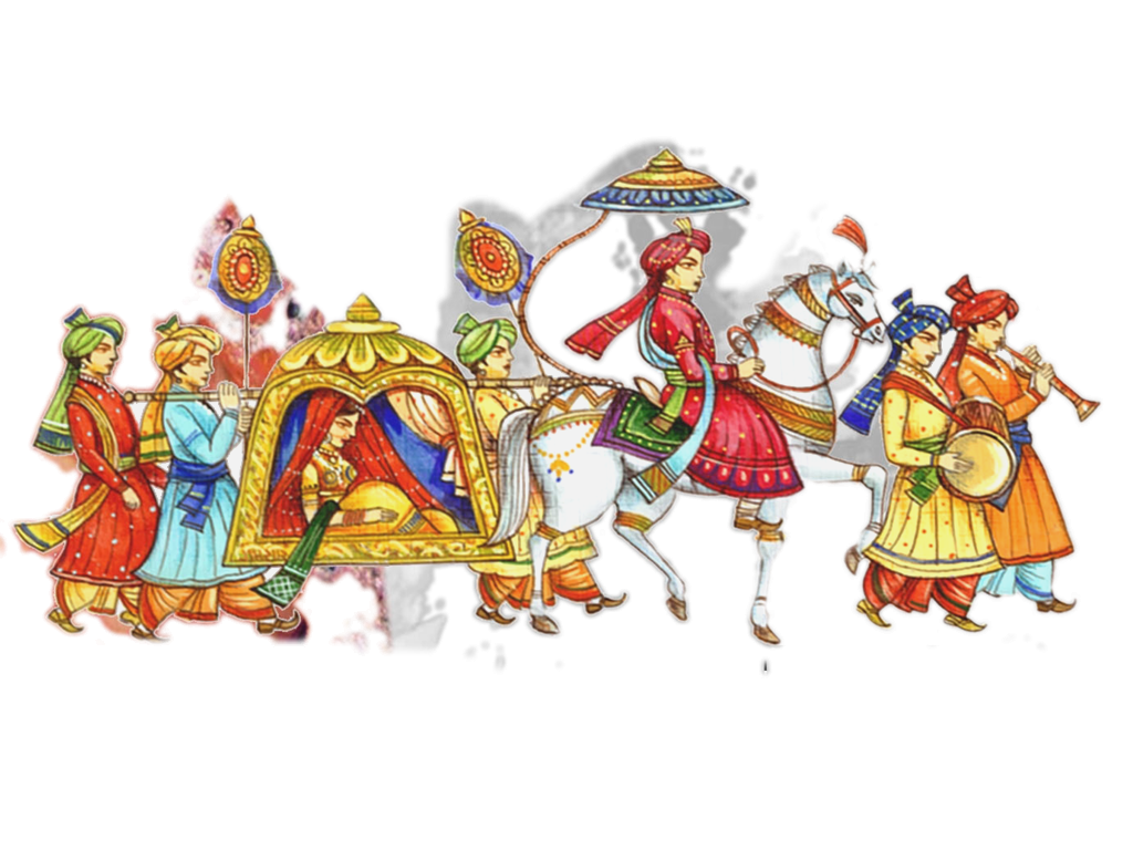 Marriage clipart dulha dulhan. Image result for vector