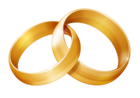 Marriage clipart linked ring. Wedding wave hatenylo com