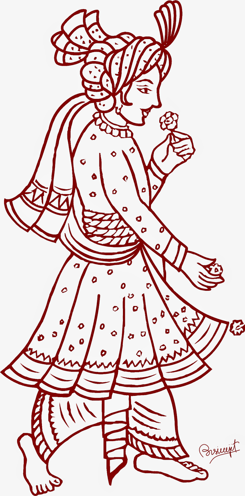 Marriage clipart marriage indian ceremony. Wedding pencil and in