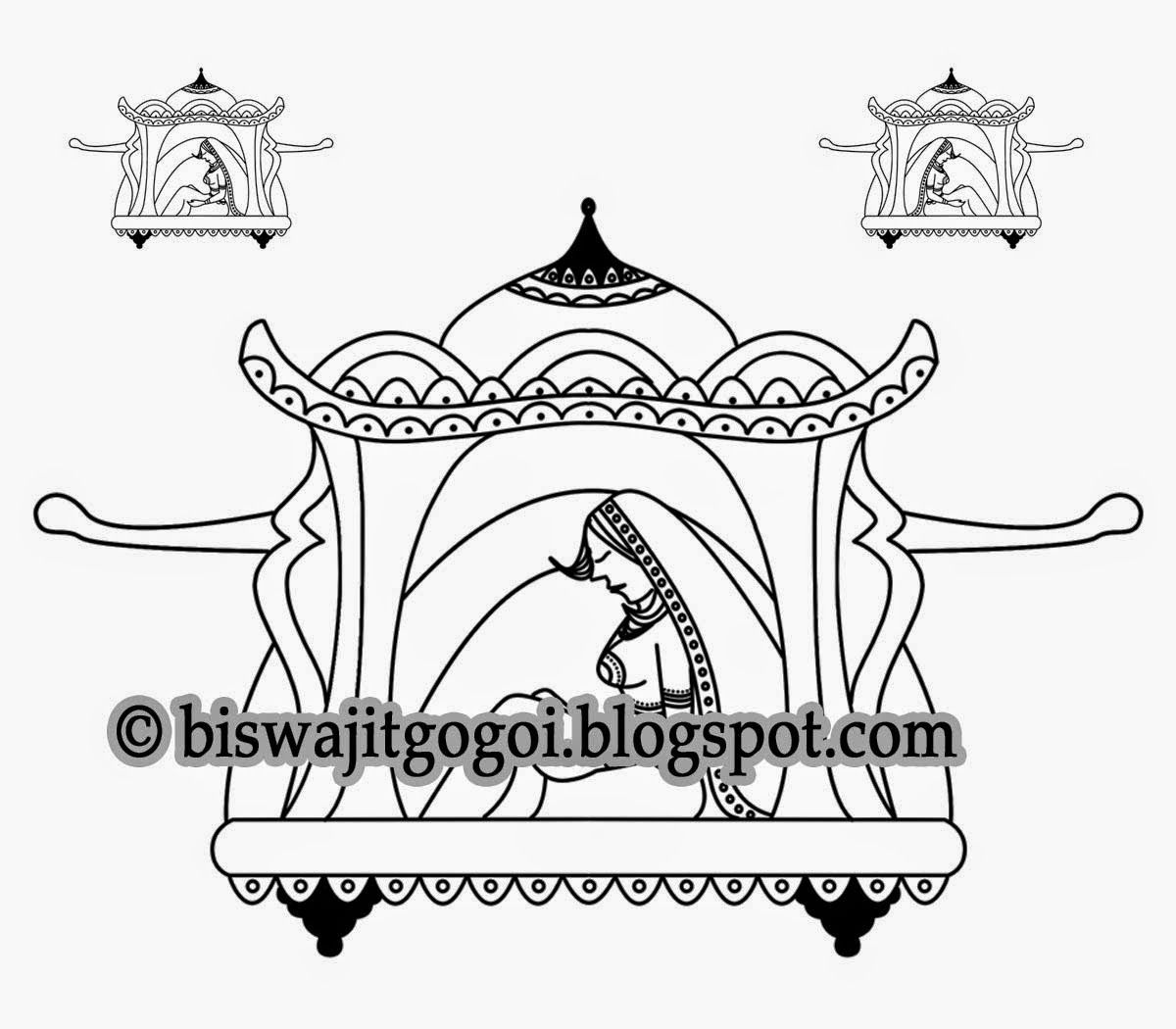 Marriage clipart procession. Indian wedding symbol hindu