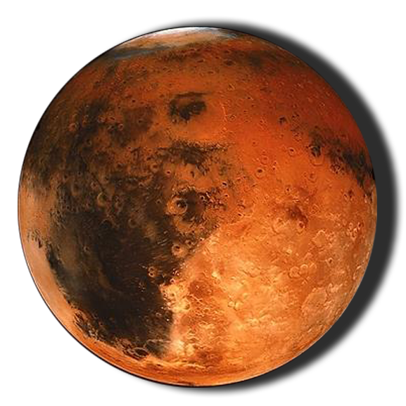 Mars planet png. Melissa project urine to