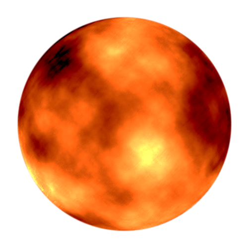 Mars vector. The red planet