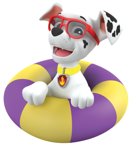 Marshall from paw patrol png. Image summer sunglasses adventures