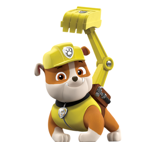 Marshall from paw patrol png. Rubble imagenes personajes de