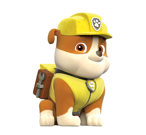 Marshall from paw patrol png. Birthday rubble english