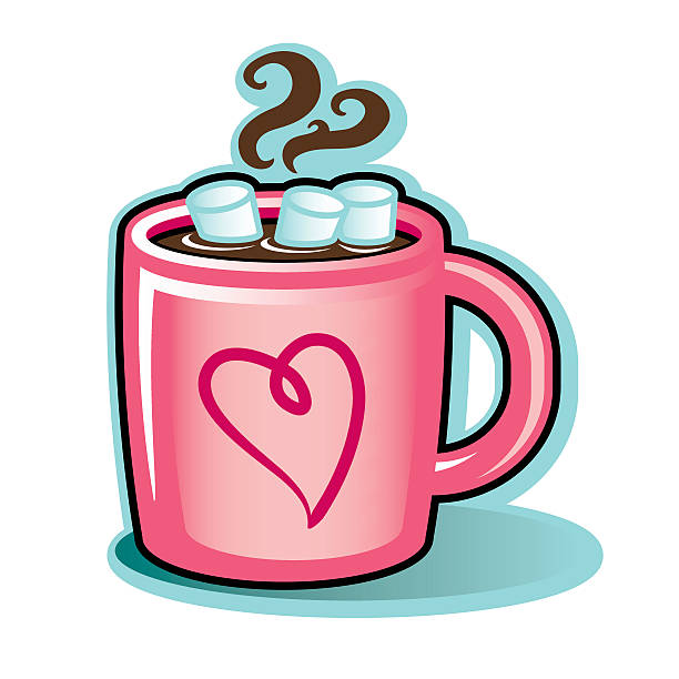 Coffee clipart hot chocolate. Marshmallow at getdrawings com