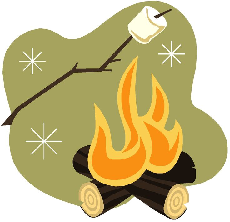 Marshmallow clipart camping. Roasting pencil and in