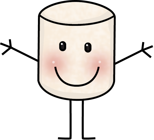 marshmallow clipart mad