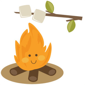 Marshmallow clipart camping. Miss kate cuttables cute