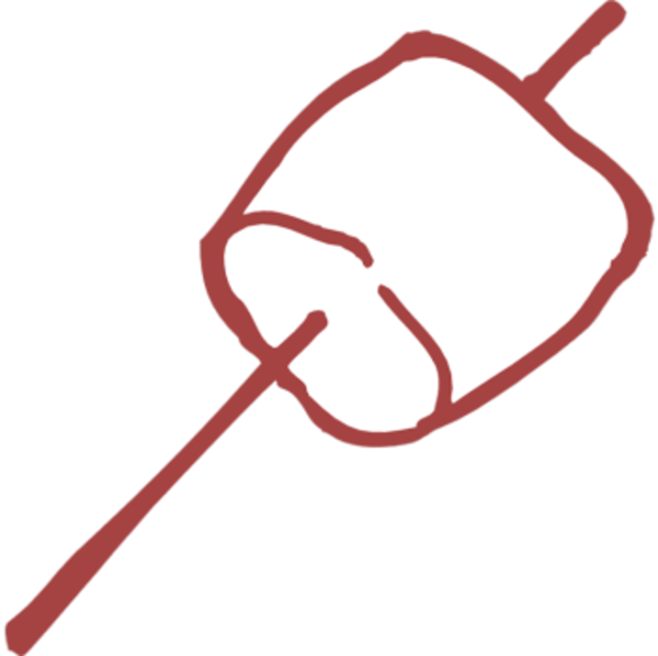 Marshmallow on stick free png. Images at clker com
