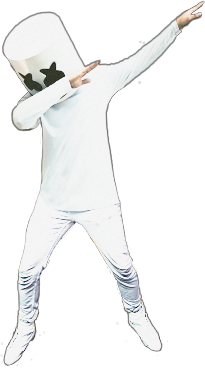 Marshmello dj png. Download ftestickers people dab