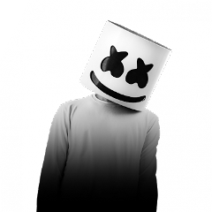 Marshmello head png. Popular and trending stickers