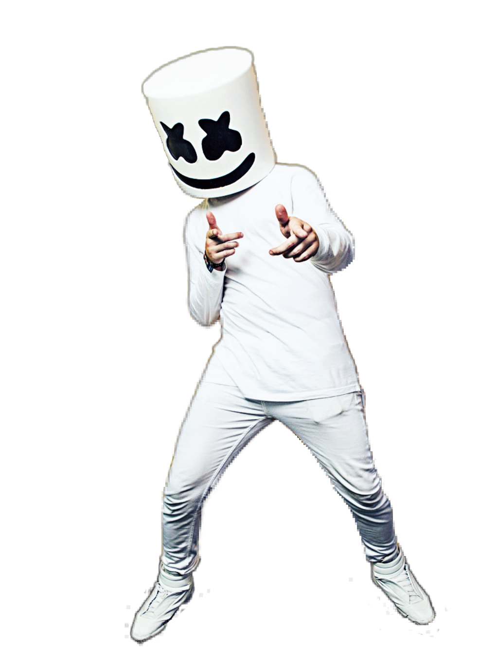 Marshmello dj png. Ftestickers people dance party