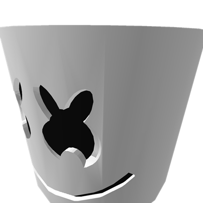 Marshmello head png. Mask roblox