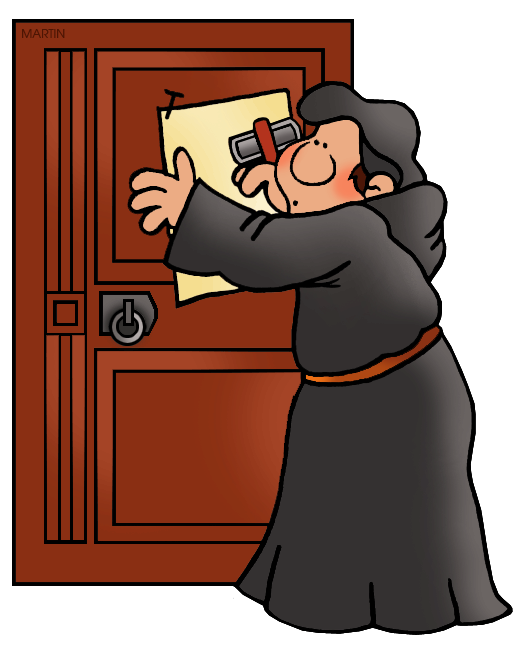 Martin luther clipart. World history clip art