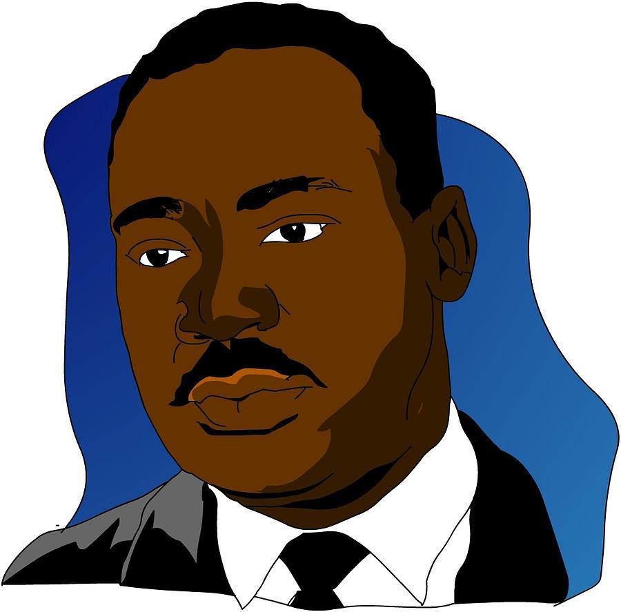 Mlk clipart cartoon. Jr at getdrawings com