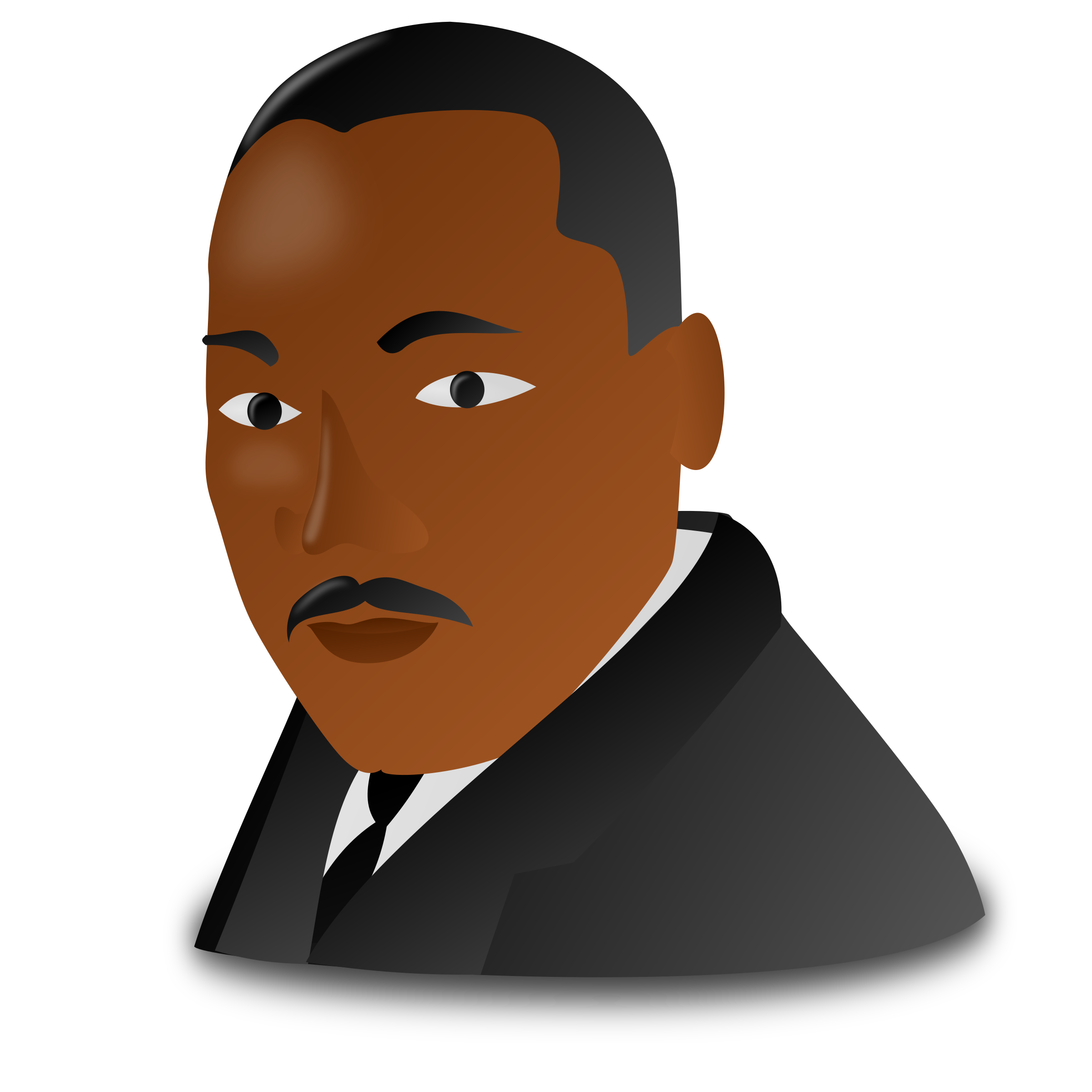 Mlk clipart cartoon. Martin luther king jr