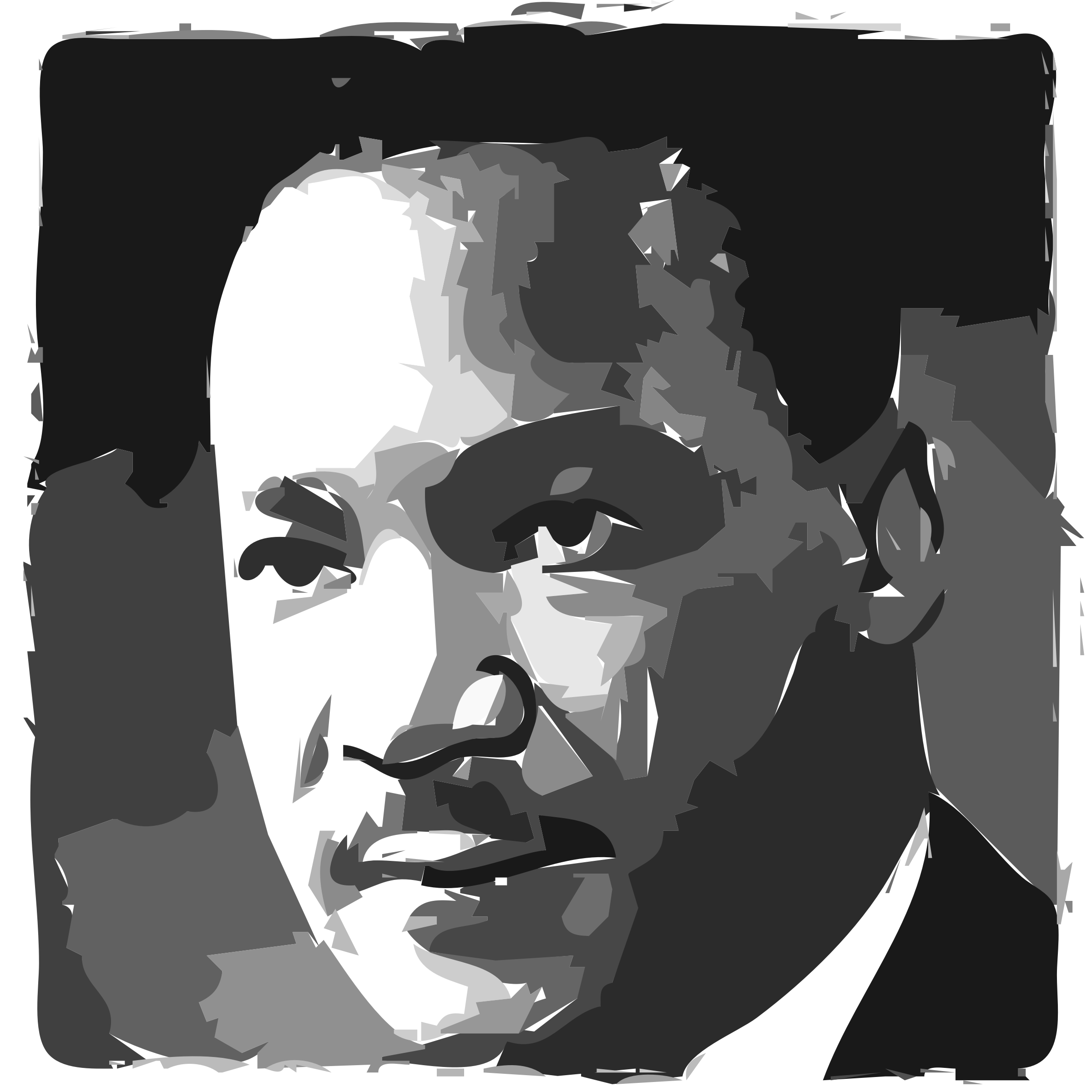 King jr day icons. Martin luther clipart portrait png black and white stock