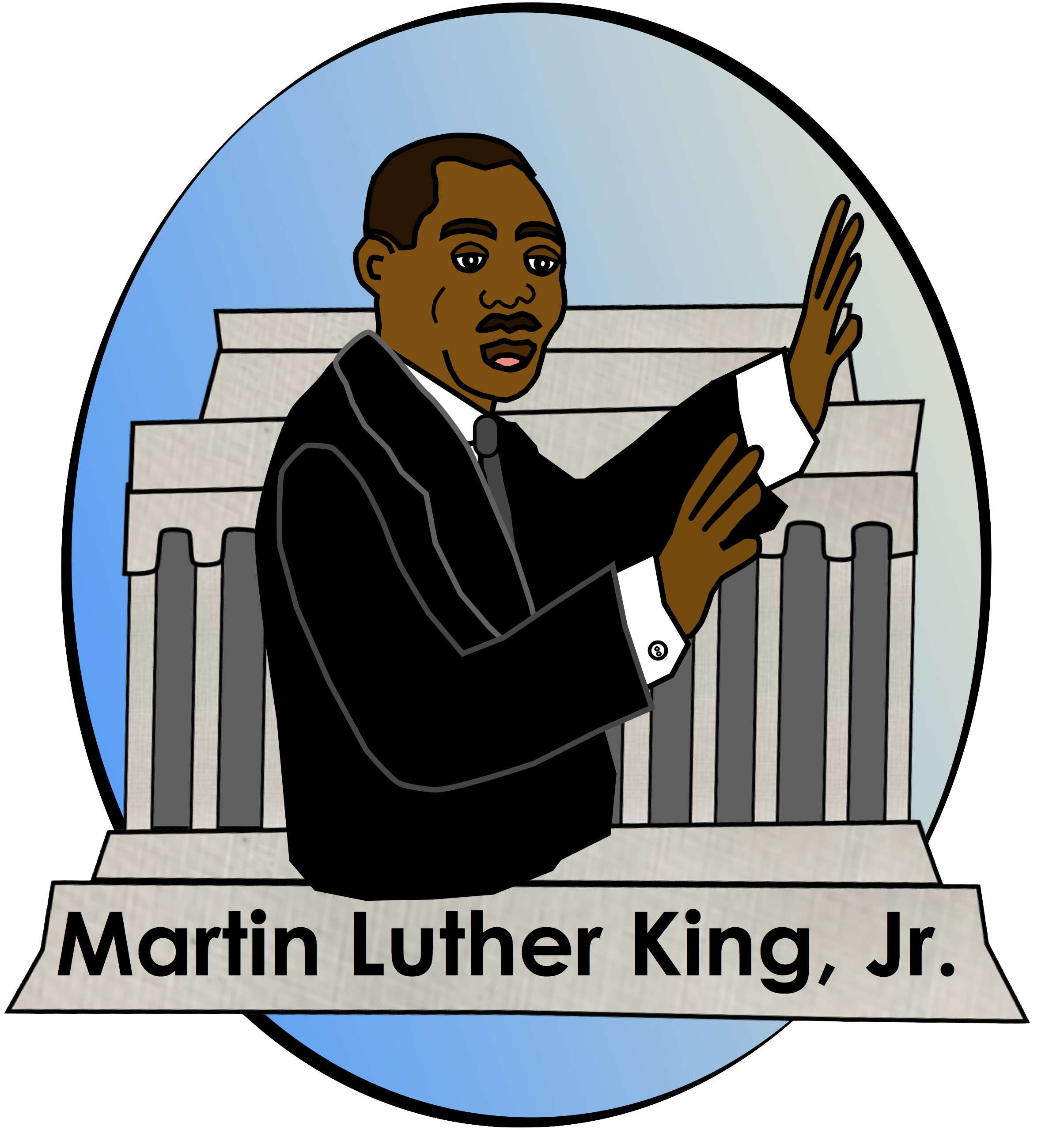 Martin luther jr clipart. Mlk at getdrawings com