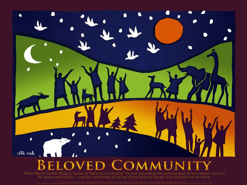 Martin luther jr clipart beloved community. Poster mlk s syracuse