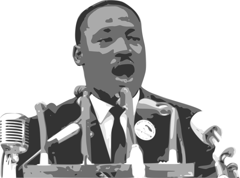 Martin luther king jr png. What s the first