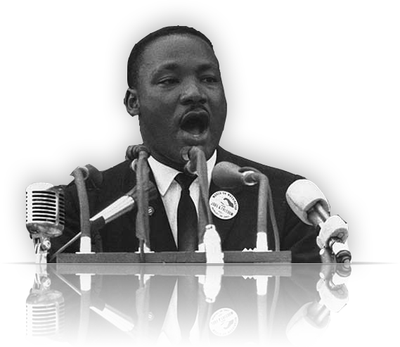Martin luther king jr png. Image with transparent background