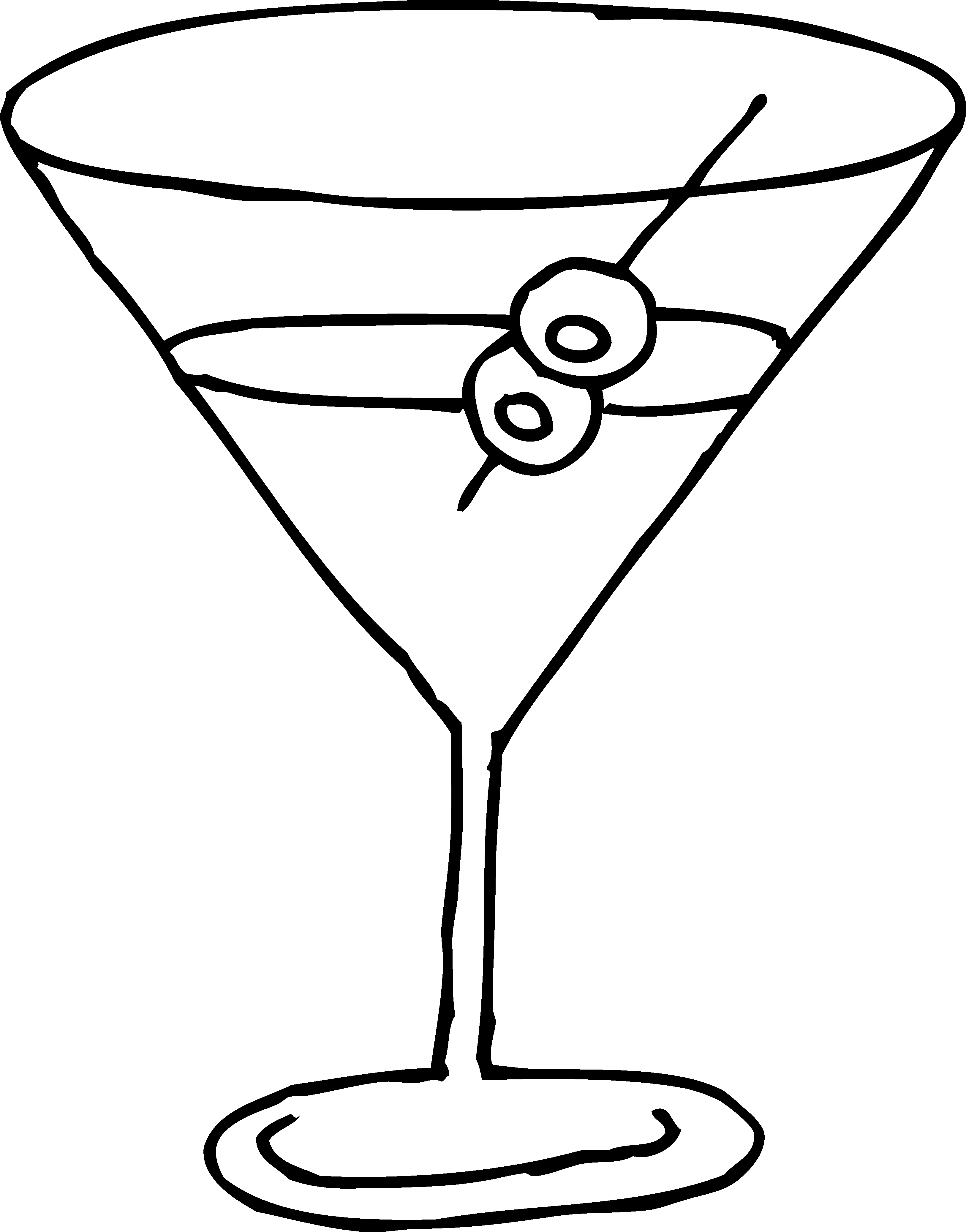 martini clipart png